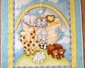 Baby Size Quilt Noah's Ark