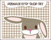 Etsy Premade Shop Set