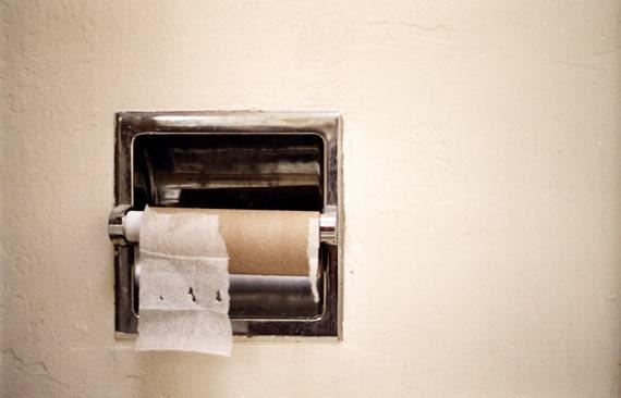Bathroom Art Toilet Paper Roll Photo Print 4x6