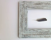 frame southwest stars geometric wood painted vintage etsy lillysshoppe