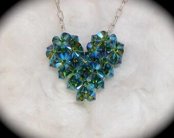 3-D Crystal Heart Tutorial