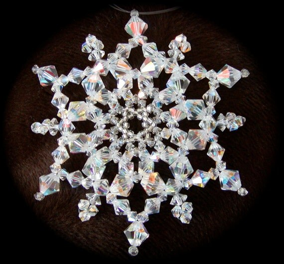 Crystal Snowflake Ornament Tutorial (JDC030)