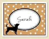 Ay Chihuahua - Adorable Personalized Note Cards (10 Folded)