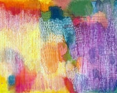 Abstract Art Print of Watercolor Painting, Serendipity