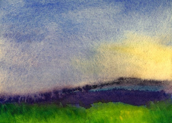 Art Print, Early Morning Sun