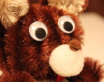Chenille Bear - Brown