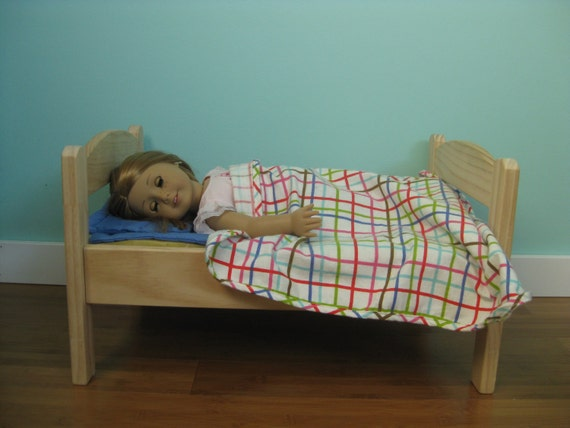 Wooden Doll Beds (Fits American Girl)