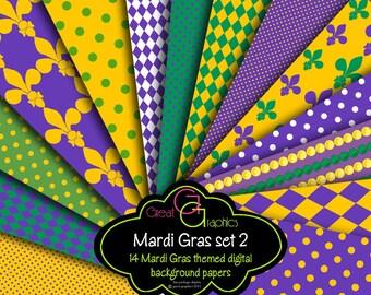 Fleur de Lis Clipart Mardi Gras Clip Art Digital Fleur de Lis