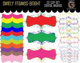 Frame Clipart Digital Frame Clip Art Printable Frame Frame Clip Art Digital Frame Clip Art Frame Scrapbook - Instant Download