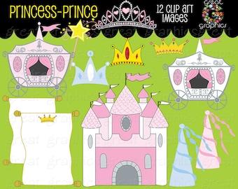 Princess Clipart Princess Clip Art Princess Digital Clip Art Princess Crown clipart Princess Party Instant Download