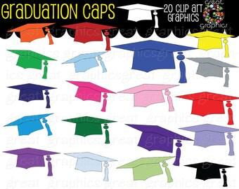 Graduation Clip Art Graduation Cap Clipart Digital Clip Art Printable Graduation Digital Clipart Instant Download