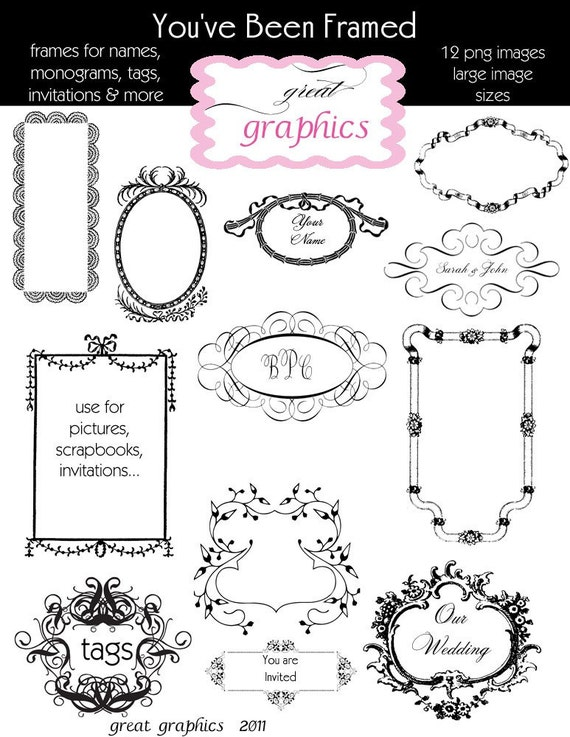 free wedding scrapbook clipart - photo #4