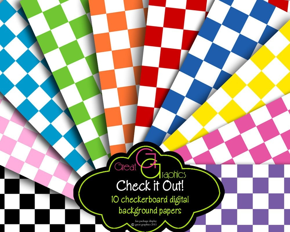 Checker Paper Checkered Paper Background