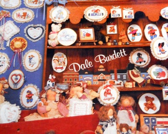 Vintage Cross Stitch Patterns - Small Cross Stitch Designs - Nursery Room Patterns - I Love Miniatures Dale Burdett