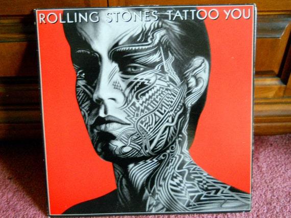 Rolling Stones Vinyl Record - Tattoo You