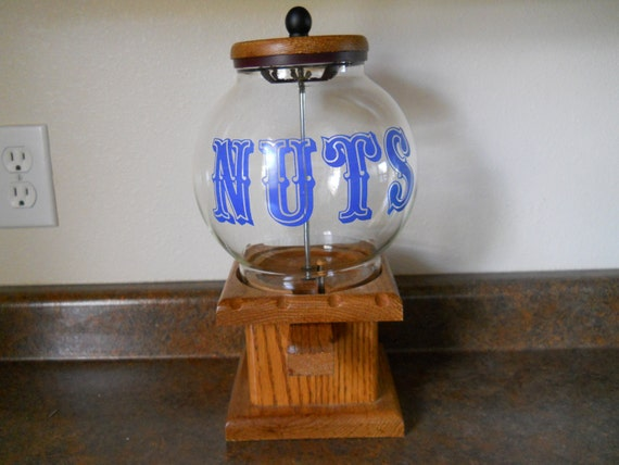 Vintage 'Nuts' Dispenser RESERVED FOR FUKUKO