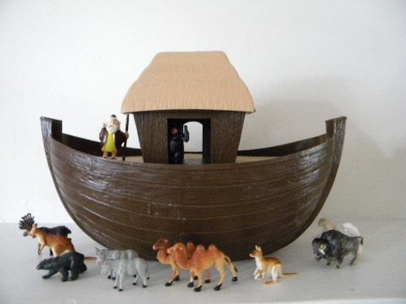 Vintage Noah S Ark Toy 1972 Hong Kong