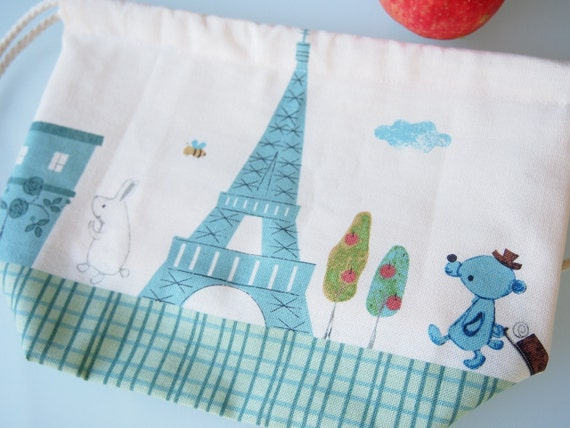 Toddler Backpack Lunch Bag - Paris (Eiffel Tower)