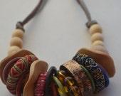 Boho Chic Multi-Ringed Eco-Friendly Necklace