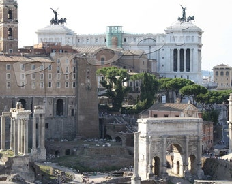 Roma, Italy 2009 - Roman Forum