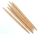 US 13 (9mm) Bamboo Double Pointed Knitting Needles - Set of 5