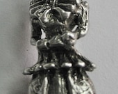 Vintage Elizabethan Person Sterling charm