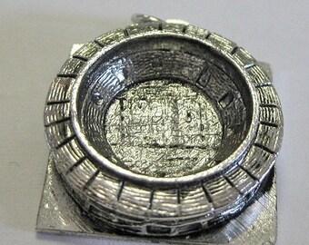 Vintage Sterling Riverside Stadium Cincinatti Souvenier Charm Estate jewelry for your charm braclet