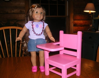School Desk for 18 inch Dolls