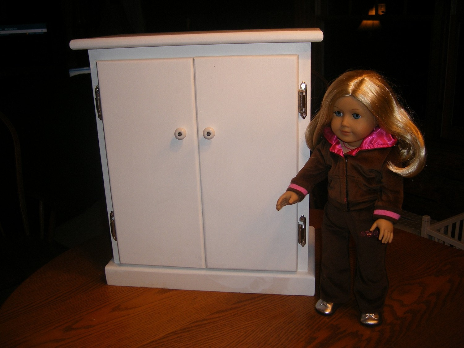Temporarily Sold Out 18 Inch Doll Armoire Wardrobe For