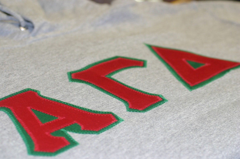 Custom sorority fraternity sewn letter jersey for Sorority sewn on letters