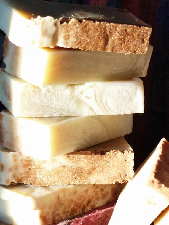 Lemongrass Love - lemongrass, lavender and patchouli vegan soap