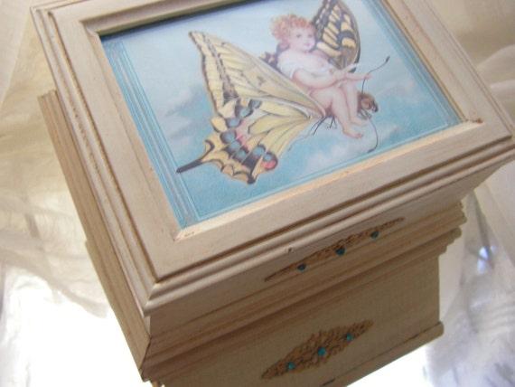 Butterfly Rides Jewelry / Trinket Box