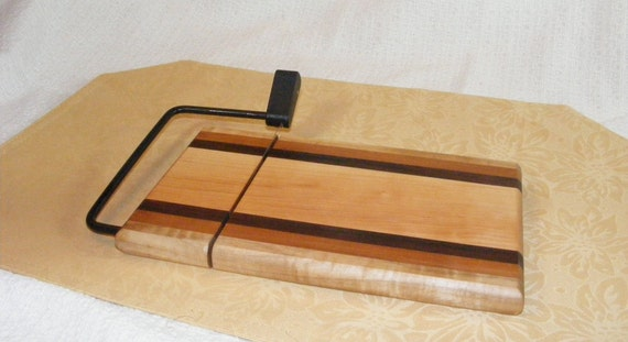 Cheese Board and Cheese Cutter, College Student Gift, Cheese Plate,Dinner Party Ideas,Unique Housewarming Gift, Cheese Cutting Board, Slicer
