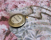 Renesmee's Locket - Twilight Inspired Necklace