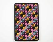 Kindle Fire Case / Kindle Fire Cover / Kindle Fire Hard Case -- Pink Aztec Geomatric