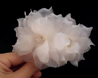 Swarovski Bridal Hair Flower, Wedding Hair Flower, Bridal Hair Piece, Wedding Hair Piece,  Bridal Headpiece, Bridal Hair Accessories,