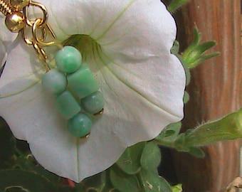 Ching Hai  Jade Earrings