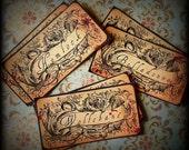 SALE - Poisonous Herbs - Sticker Labels