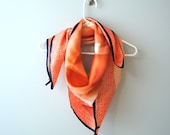 Vintage 100% SILK scarf from Talbots...LARGE