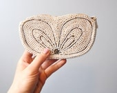 Vintage beaded small clutch