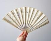 Antique Flapper Era 1920s Fan