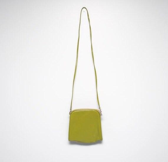 Olive Color Purse Square Shape