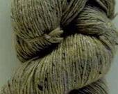 Aran Tweed Yarn (Oatmeal) Irish Donegal Kilcarra Wool 7oz/200g