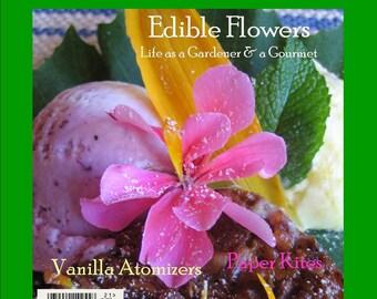 Magazine Bag Duct Tape DELIGHT Edible Flowers