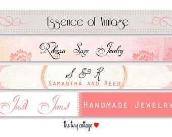 Choose Your Design - Etsy Shop Banner Set