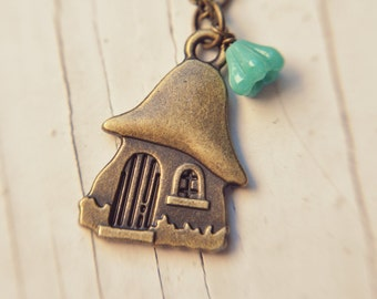 fairytale cottage necklace.