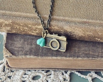 nature photographer necklace.