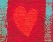 I Love You - Fine Art ACEO