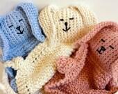 Bunny Buddy Baby  Blanket Organic Cotton