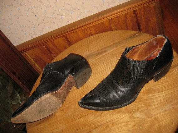 Western Low Cut Cowboy Boot Shoes  Mens 10 M